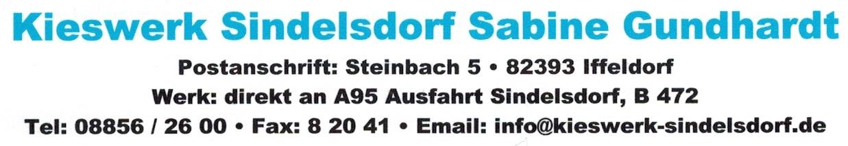 Kieswerk Sindelsdorf